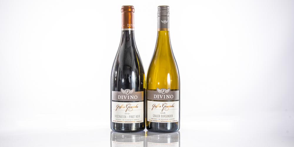 weinscheune himmelstadt_Produkte_Weinflaschen Divino